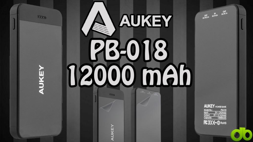 Bateria Aukey 12.000 mah PB-018