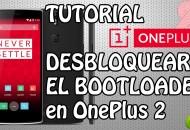 Oneplus 2 Desbloquear bootloader princi