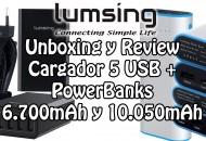 Princi Lumsing Powerbanks y Cargador