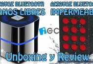 Altavoces Bluetooth EC Technology Princi