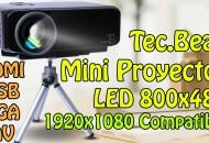 Mini Proyector GP9S TecBean Princi