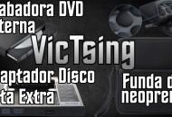 Grabadora externa funda y adaptador VicTsing princi