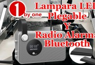 Lampara Led y Radio 1ByOne princi