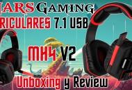 Mars Gaming Auriculares USB MH4 V2 7.1 princi