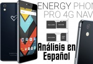 Energy Phone Pro 4G Navy princi