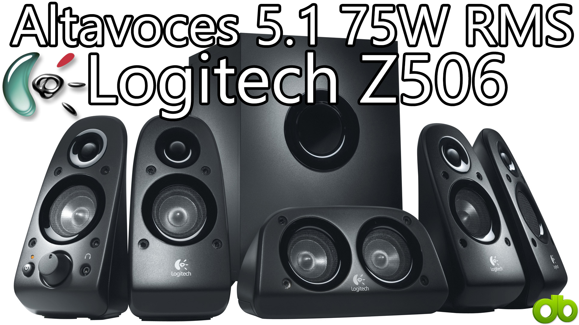 Logitech surround sound speakers z506 how to connect to pc