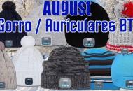 August EPA20 Gorro Bluetooth princi