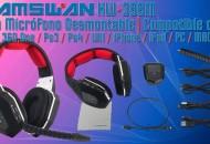 Auriculares Inalambricos Hamswan HW-399M princi