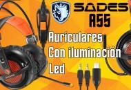 Auriculares Sades A55 princi