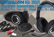Auriculares Wireless HW-390M princi