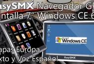 EasySMX Navegador GPS con WinCE 6.0 princi