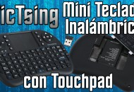 Miniteclado VicTsing Inalambrico con touchpad princi