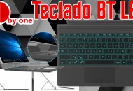 1byone Wireless keyboard with touchpad princi
