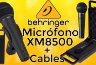 Microfono Behringer Ultravoice XM8500 princi
