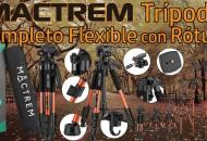 Mactrem Trípode Completo Flexible con Rótula princi