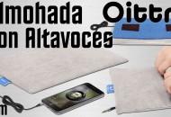 Almohada mini con altavoces Oittm princi