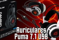 Auriculares 7.1 USB Klim Puma princi