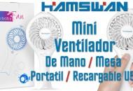 Ventilador Mini Hamswan princi