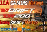 silla drift dr200 naranja coolmod princi