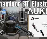 Aukey Bluetooth FM Transmisor Coche princi
