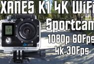 SportCam XANES K1 4K WiFi princi