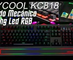 Teclado Gaming USB PC KEYCOOL KC818 princi