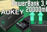 AUKEY Power Bank 3.4A 20000mAh princi