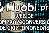 Huobipro Web cambio Criptomonedas princi