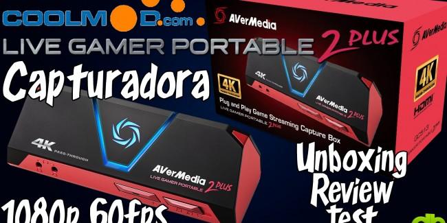 Avermedia Live Gamer Portable 2 Plus 4K coolmod princi