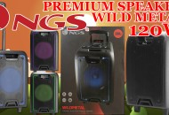 NGS Premium Speaker Wild Metal 120W princi princi