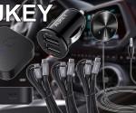 Aukey Audio BT, Cargador mechero y usb c princi