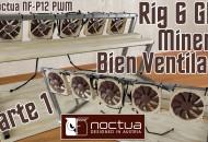 Montar Rack Rig minería criptomonedas 6 GPU Bien Ventilado Parte 1 princi