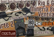 Montar Rack Rig minería criptomonedas 6 GPU Bien Ventilado Parte 2 princi