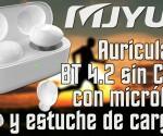 MJYUN Auriculares BT deportivos princi