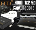 ViewHD HDMI Video Recorder y 1x2 Splitter princi