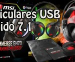 MSI Immerse GH70 Auriculares USB 7.1 princi